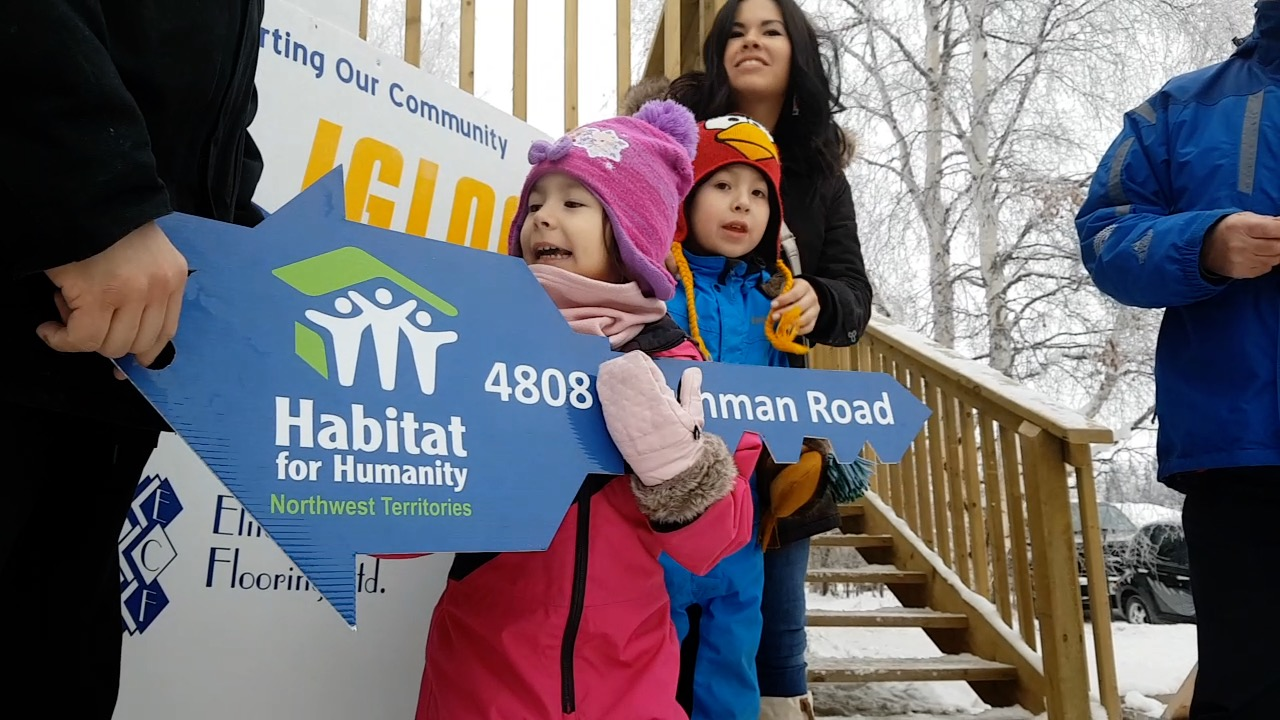 Habitat for Humanity keys handed over