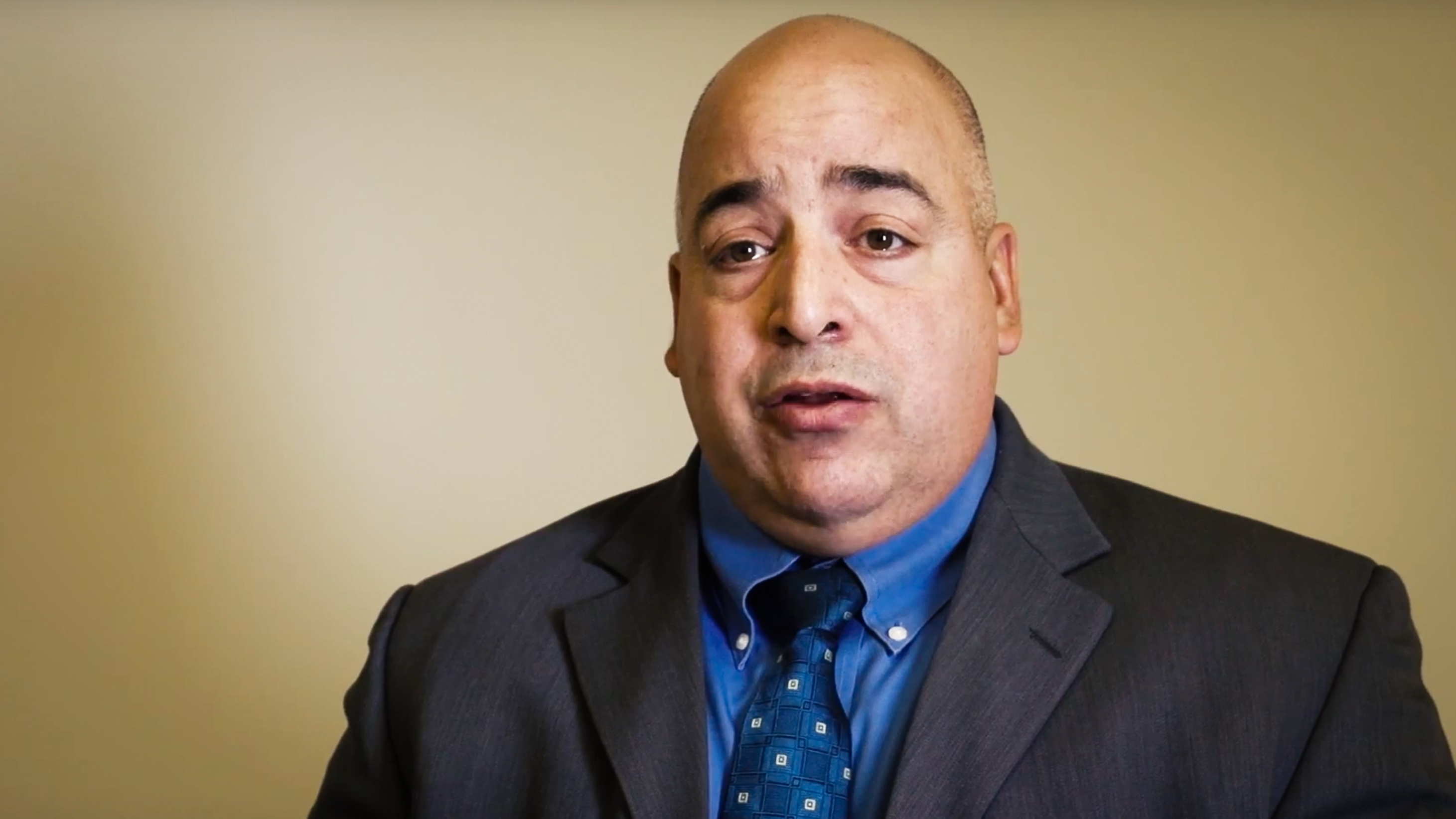 Dennis Kefalas appears in a still from a promotional video released by the City of Yellowknife in 2017