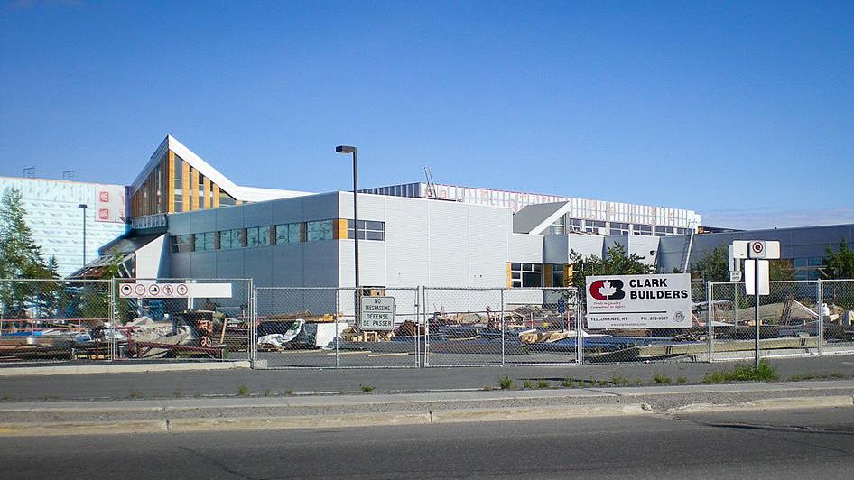 Ecole St Joseph School in Yellowknife is pictured in 2009 - CambridgeBayWeather-Wikimedia
