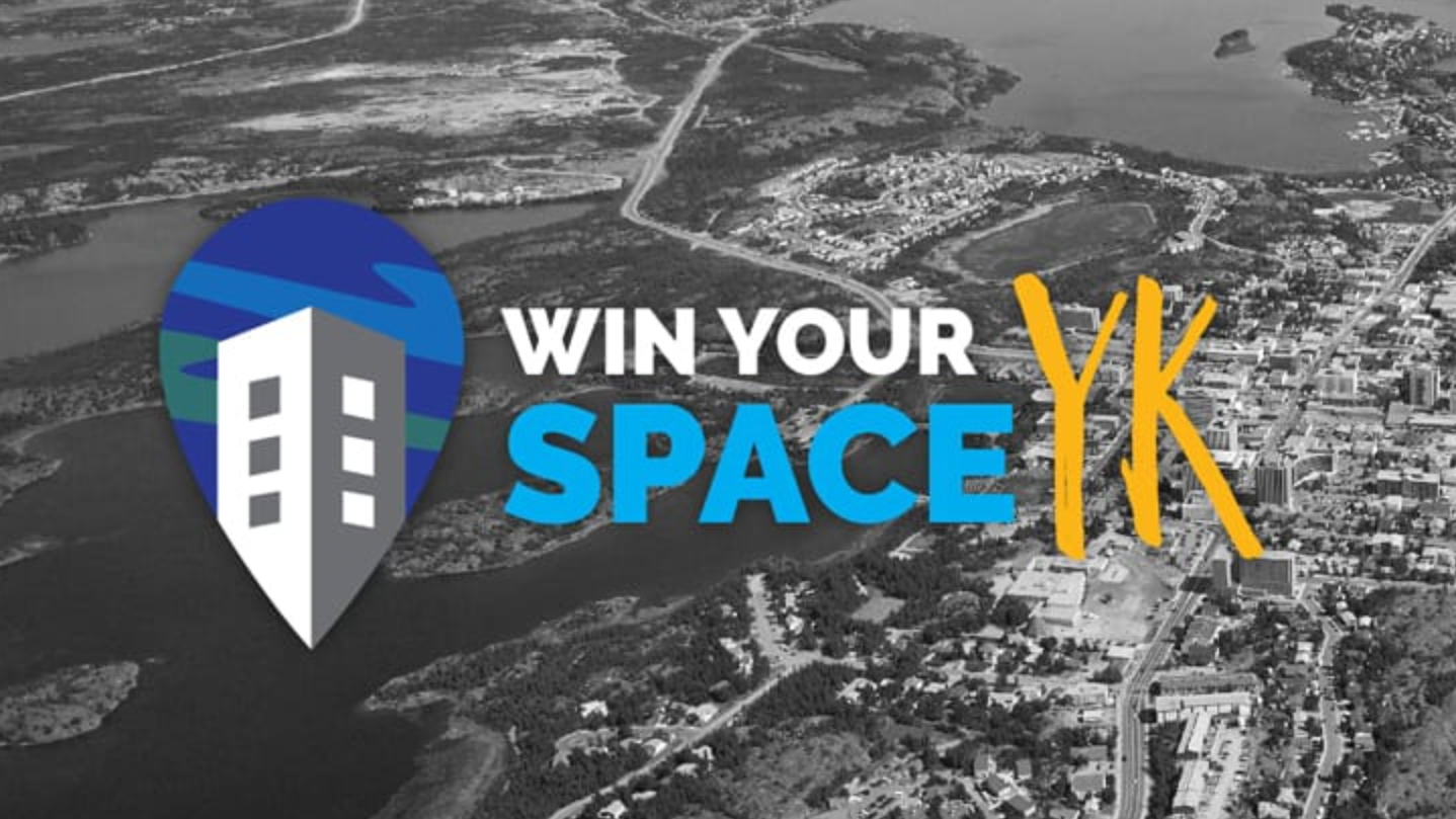 The City of Yellowknife's Win Your Space YK contest logo