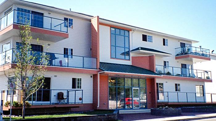 Yellowknife's Aurora Suites building