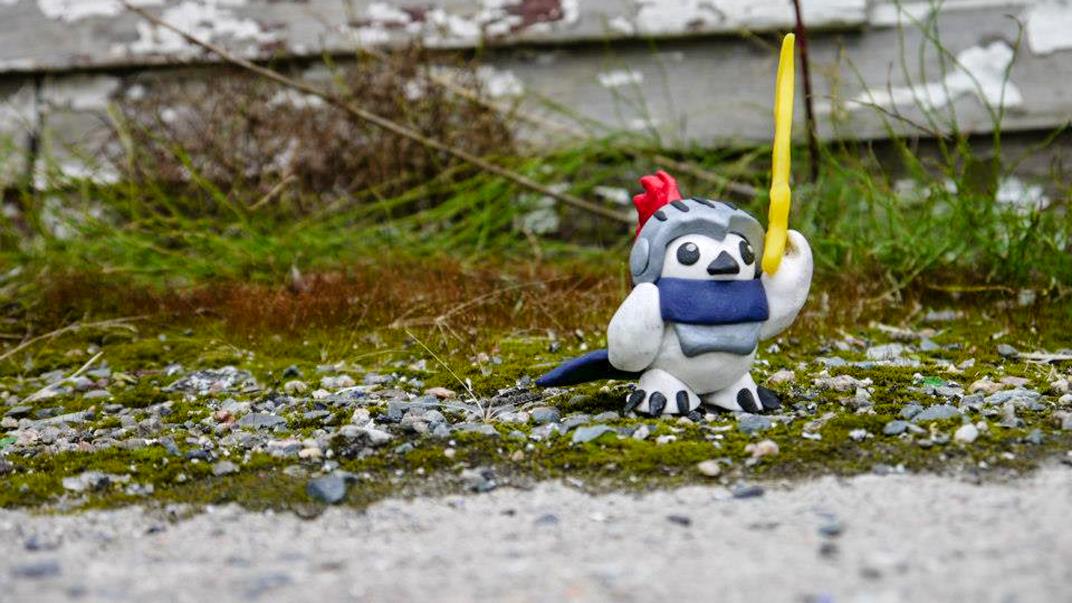 A Ptarmicon mascot lies on the ground in a photo uploaded to the event's Facebook page