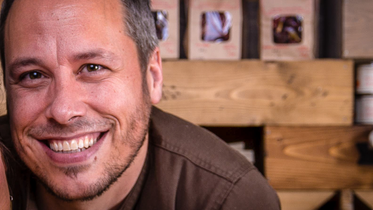 Flavour Trader's Etienne Croteau pictured at his store