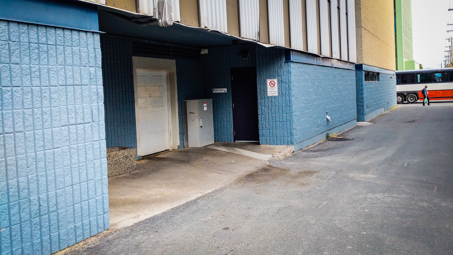 Court documents state the attack took place in an alcove behind Yellowknife's Capitol Theatre