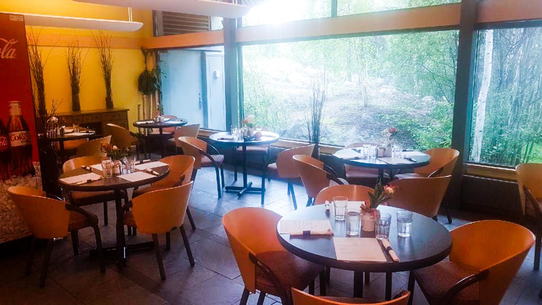 Inside Yellowknife's Cliff Café