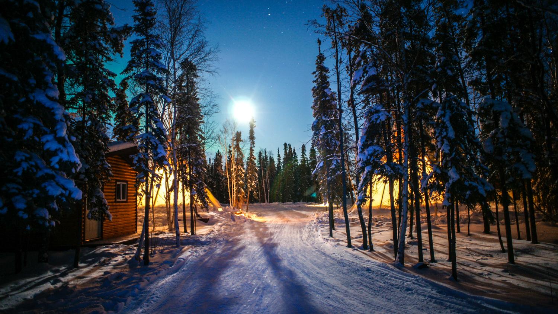 A file photo of Aurora Village - CTC-NWT Tourism