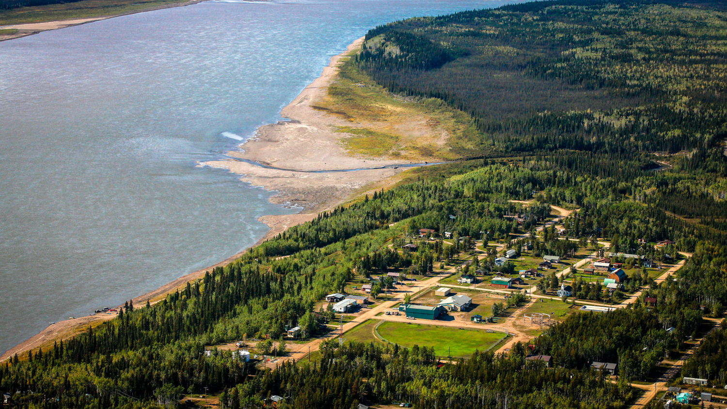 Wrigley is pictured in a photo uploaded by NWT Tourism in 2015 - George Fischer-NWT Tourism