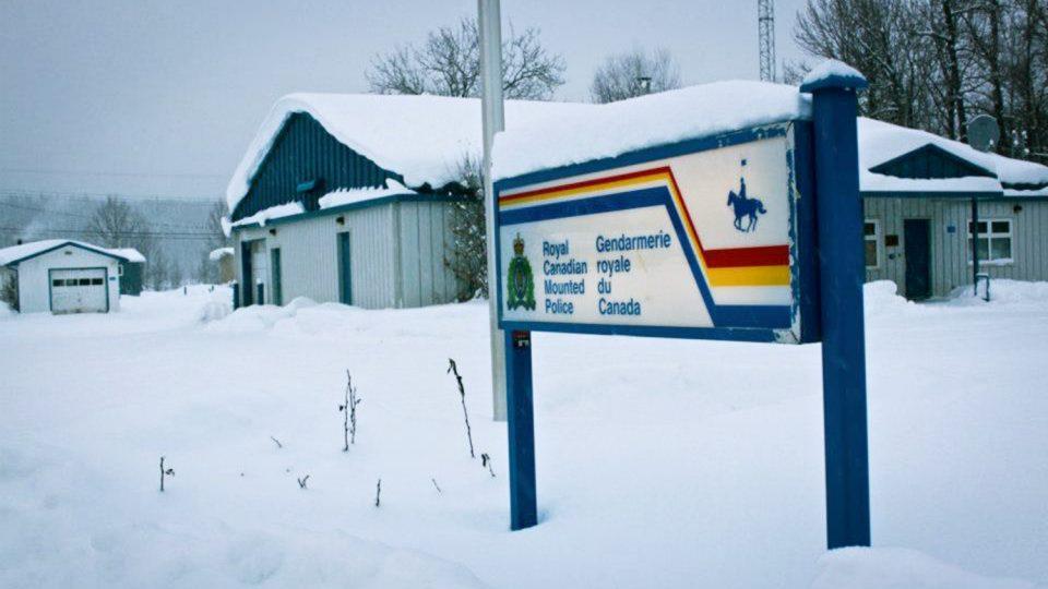 A file photo of Fort Liard's RCMP detachment