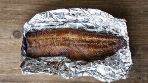 A file photo of a smoked whitefish