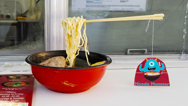 A photo of frozen noodles. Noodo Monster/Facebook