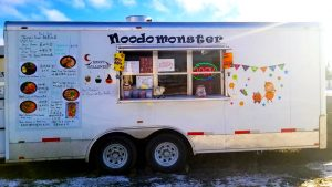 A photo of the Noodo Monster food truck. Noodo Monster/Facebook