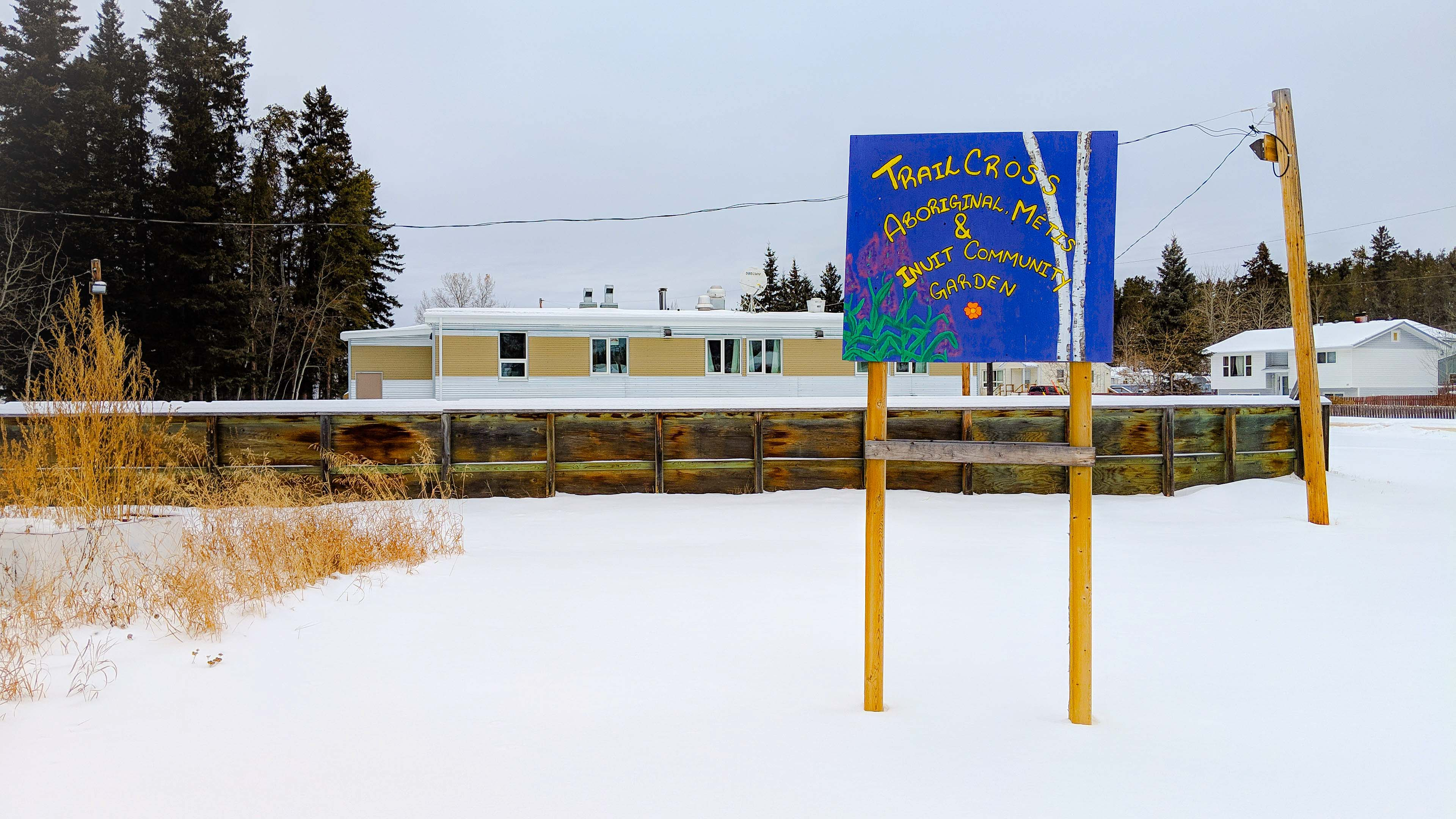 A file photo of Trailcross Youth Treatment Centre in November 2018. Sarah Pruys/Cabin Radio