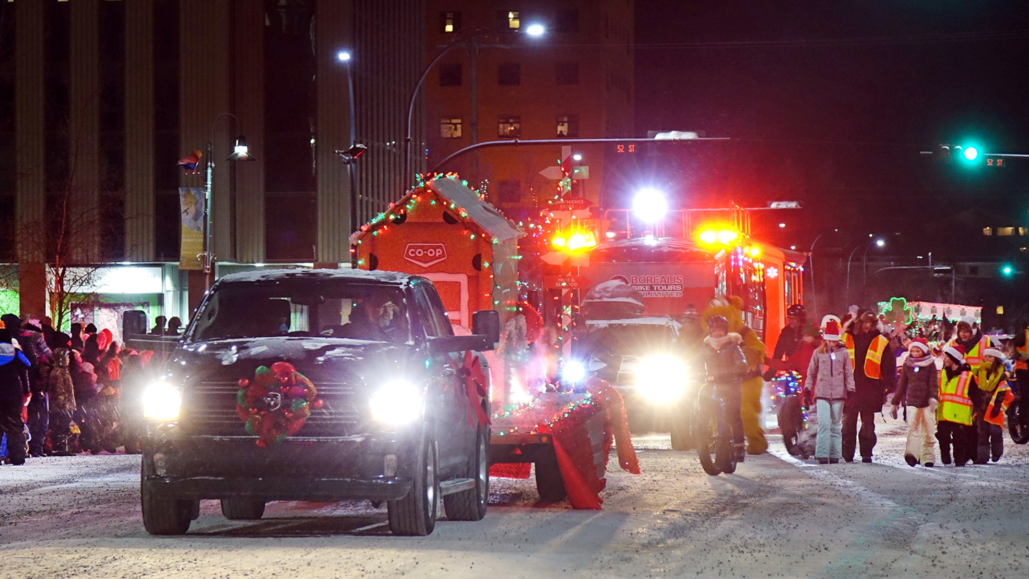 Yellowknife's 2018 Santa Claus Parade