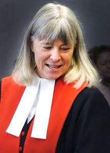 A file photo of Chief Justice Louise Charbonneau