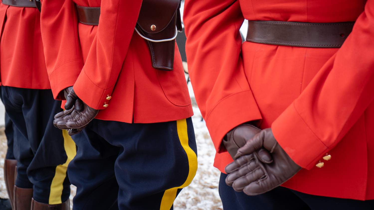 File photo of RCMP officers