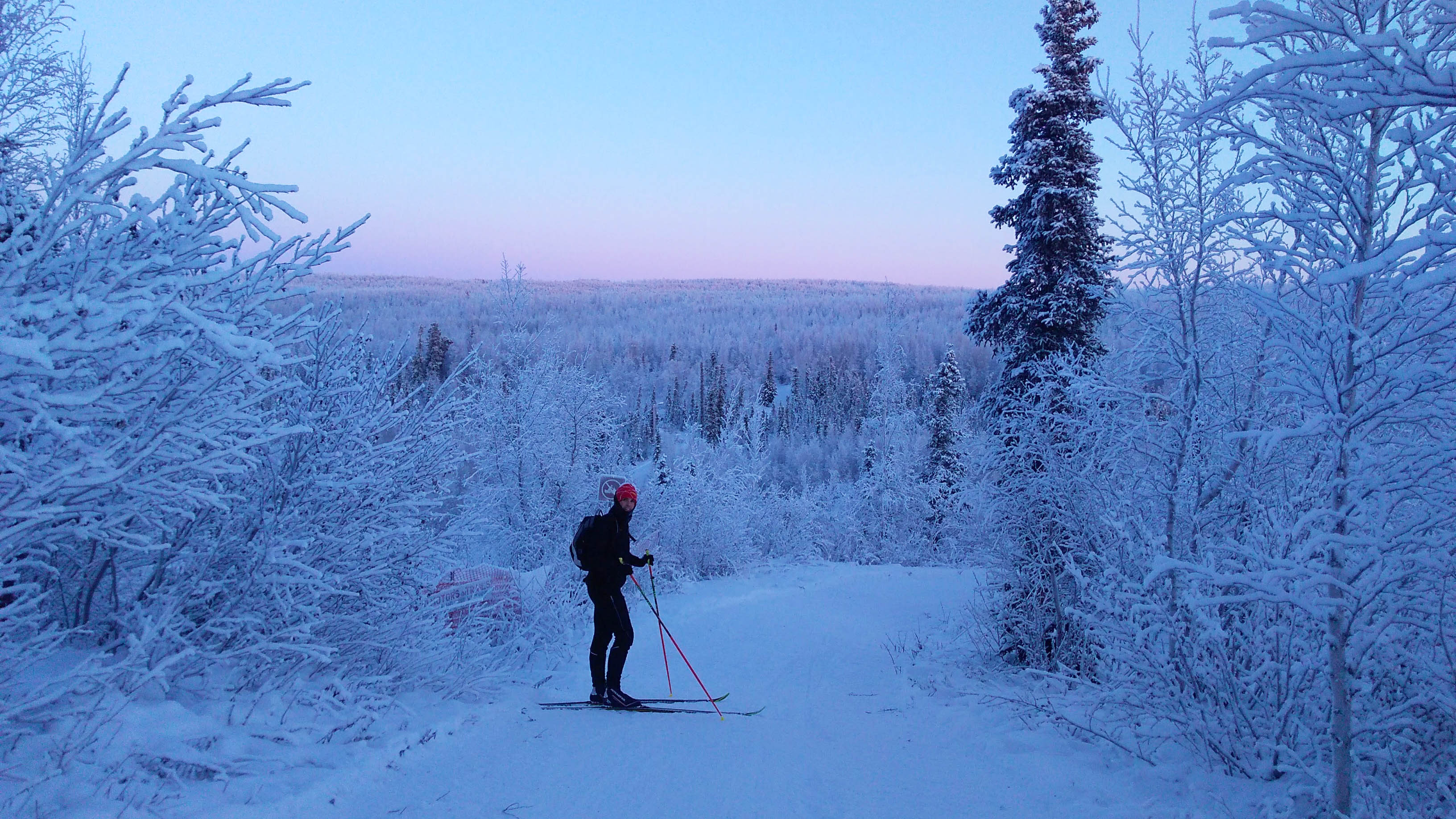 A submitted photo of Inuvik Ski Club's Firth's Folly hill in 2017. Holly Jones/Photo