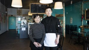 Aihua and Ajun Zhang are the new owners of Big Lake Eatery and Café, formerly She Takes the Cake, in Hay River