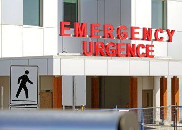 The emergency entrance