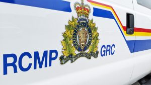 A file photo of an RCMP truck. Sarah Pruys/Cabin Radio