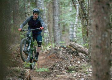 Quinn Lanzon mountain biking