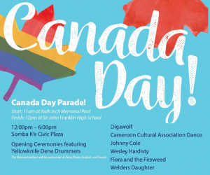 Canada Day City of YK 2019