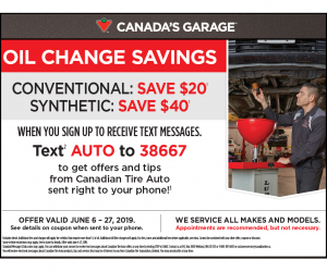 Canadian Tire Oil Change