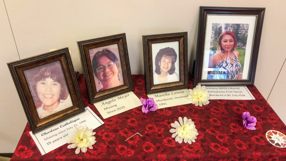 Missing and murdered Indigenous women of the North are remembered at the Native Women's Association