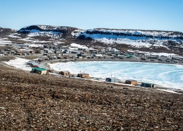 A file photo of Ulukhaktok. Anne Kokko/NWT Tourism