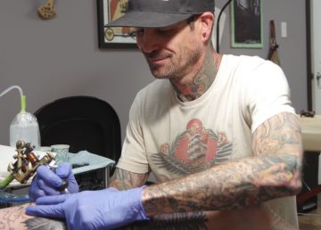 Chad Good will join Trevor Pelletier in the all-day tattoo fundraiser August 5
