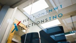 The Yellowknife headquarters of Elections NWT