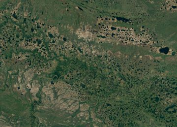 A satellite view of an area of the Ramparts wetlands to be protected if the agreement is signed