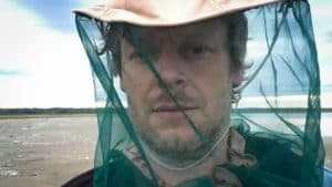 An image of Julien Gauthier near Jean Marie River, taken a week before he passed away