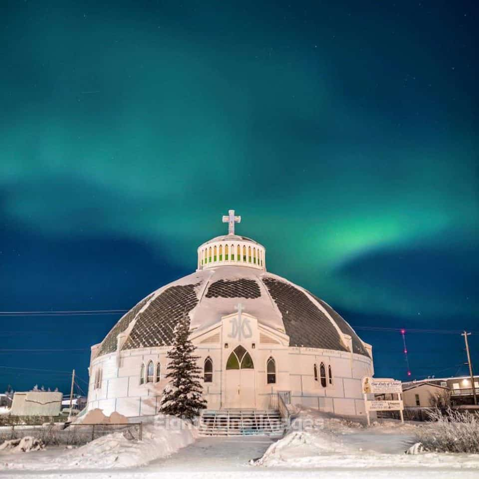 Inuvik's Igloo Church