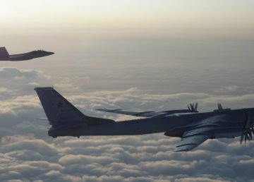 Norad, a joint US-Canadian aerospace defence command, says they intercepted Russian bombers flying over the Beaufort Sea Thursday