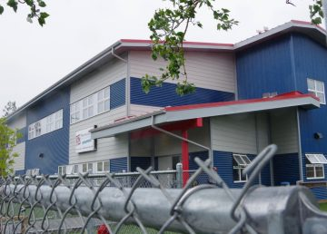 The Yellowknife Day Care Association's building is pictured in August 2019