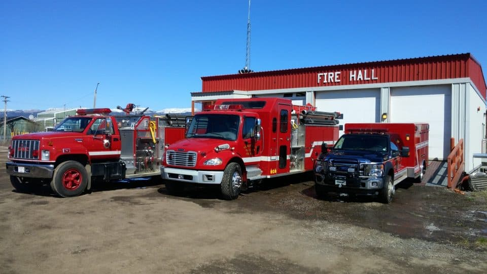 The Norman Wells fire hall