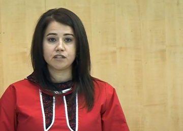 Lesa Semmler addresses the legislature in October 2019