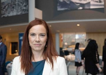 A file photo of Caroline Wawzonek in October 2019. Sarah Pruys/Cabin Radio