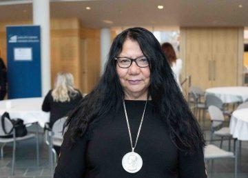 A file photo of Frieda Martselos in October 2019. Sarah Pruys/Cabin Radio