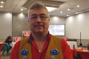 Michael McLeod at his election night watch party