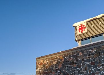CBC North's Yellowknife building is pictured on November 18, 2019