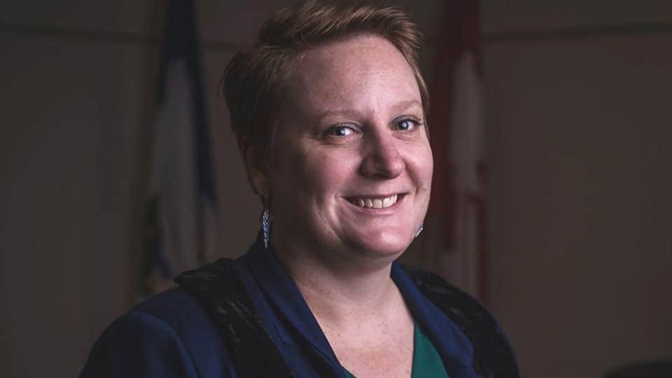 Mayor of Inuvik Natasha Kulikowski