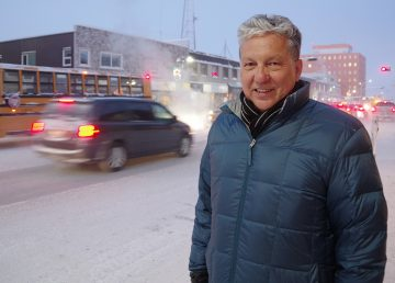 Minister of Northern Affairs Dan Vandal during a visit to Yellowknife in January 2020