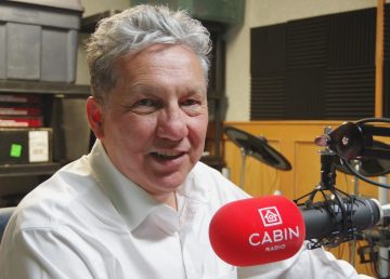 Minister of Northern Affairs Dan Vandal in Cabin Radio's Studio One on January 14, 2020