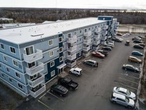 Yellowknife's Bison Hill apartments