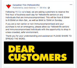 Canadian Tire hours