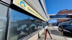 Yellowknife's downtown primary care clinic