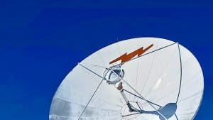 A telecoms satellite in Yellowknife