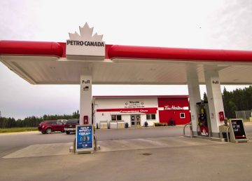 A file photo of Fort Smith's Petro-Canada gas station