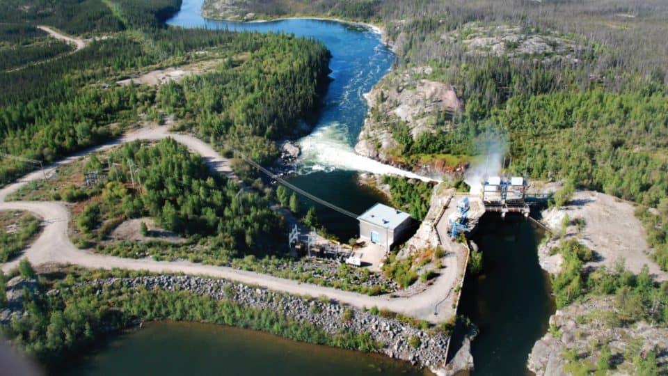 A file photo of the NTPC's Snare Falls hydro facility